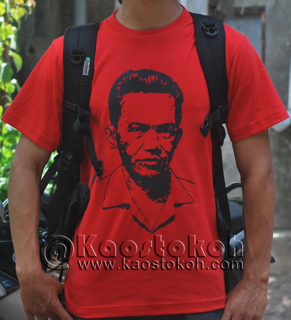 Kaos Tokoh-tokoh Indonesia dan Dunia