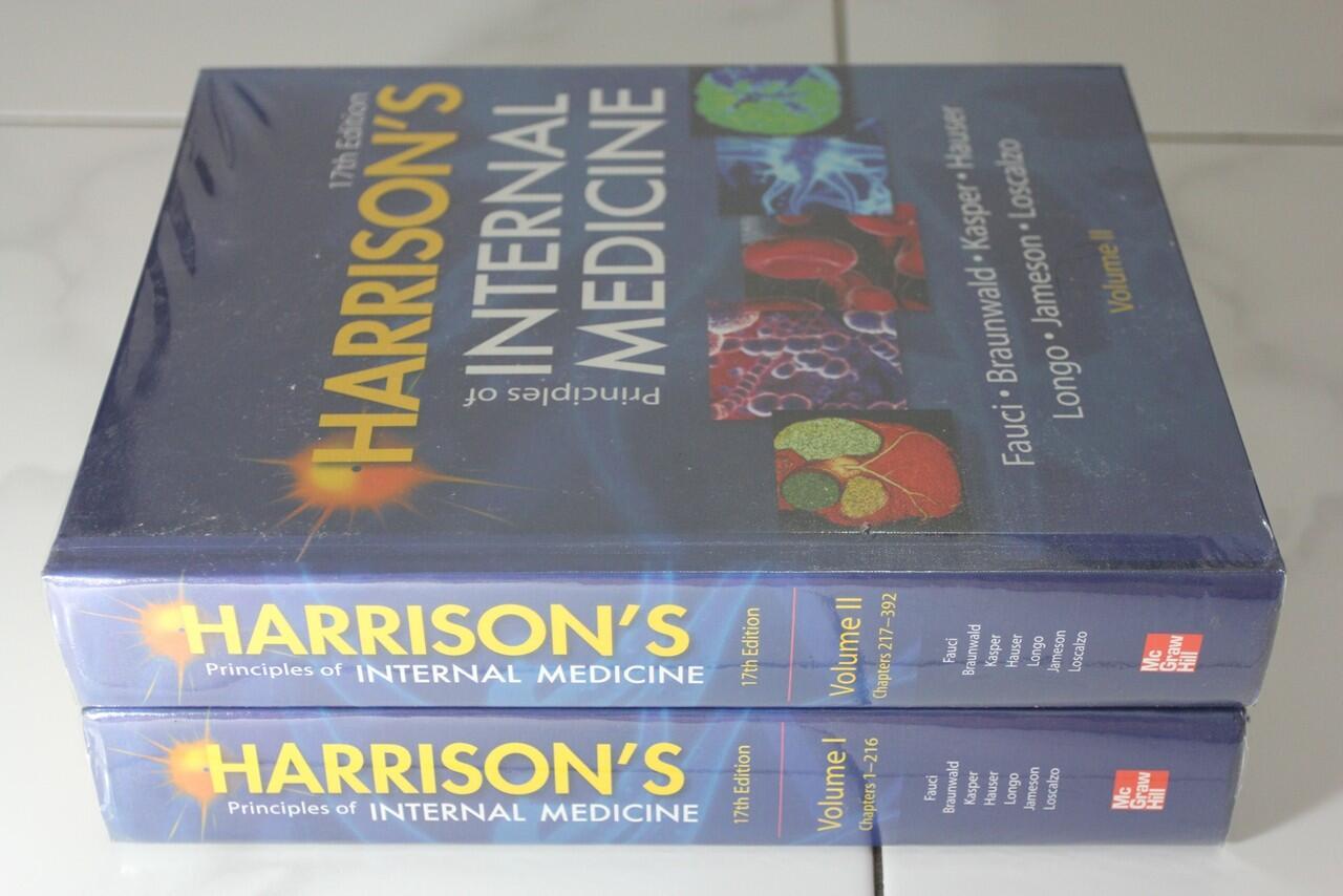 Buku kedokteran Harrison's principle of internal medicine ed 17