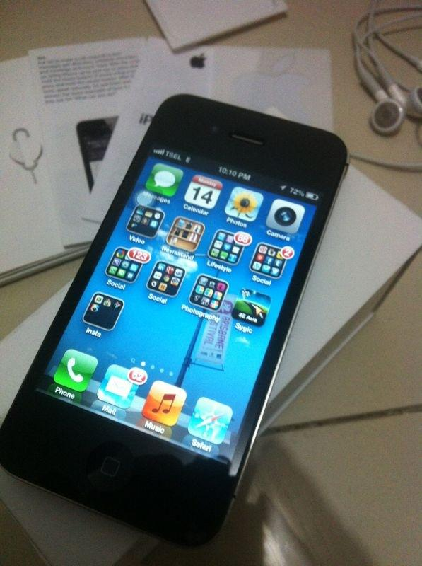 Jual / FOR SALE iphone 4s 64gb BLACK