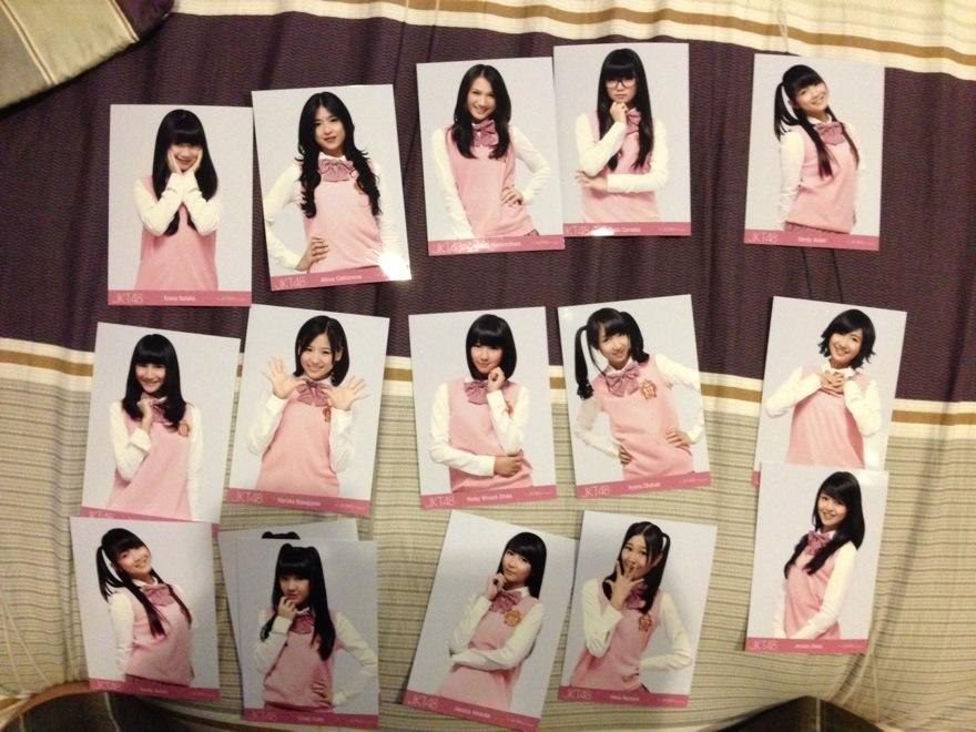 Photopack JKT48 seifuku Baby! Baby! Baby! Nabilah, Rena, dll