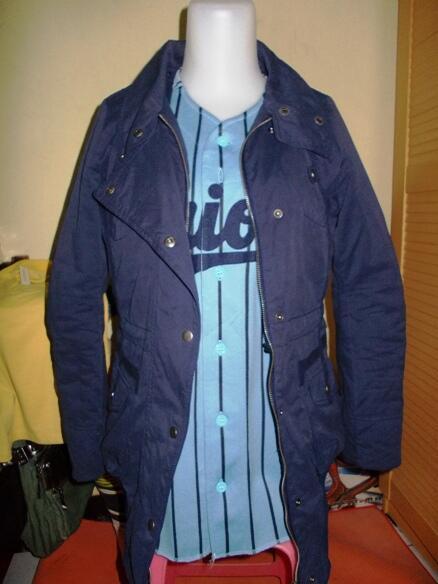 omphalos parka + country shirt original MURAH GILAAA..