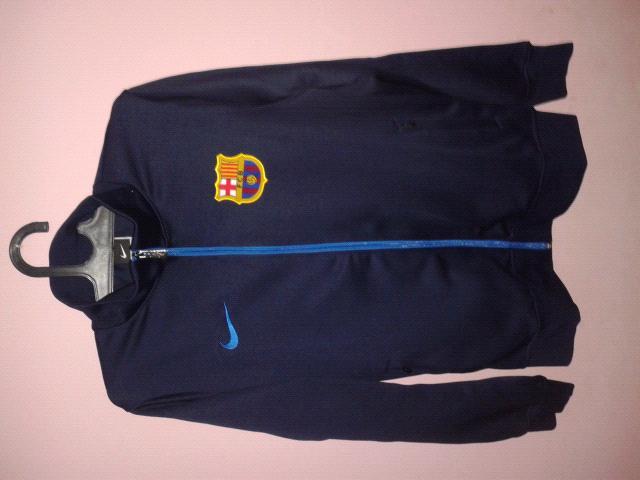 Jual Jaket Barcelona Blue Navy Grade Original