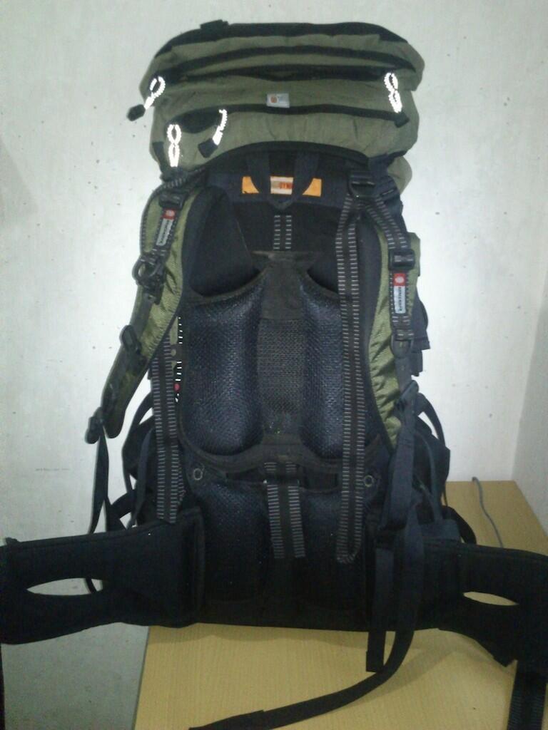 Terjual TAS CARRIER EIGER EXCELSIOR 65 BONUS Sleeping Bag