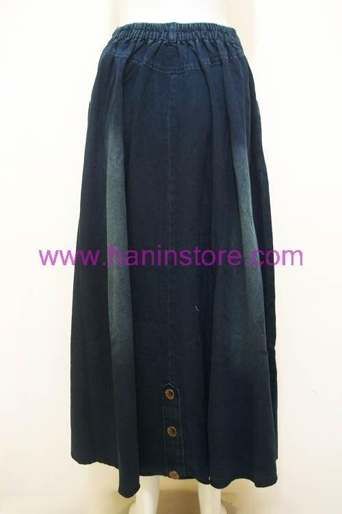 R1192 Rok Jeans Payung-Busana Muslim Terbaru HaninStore.com