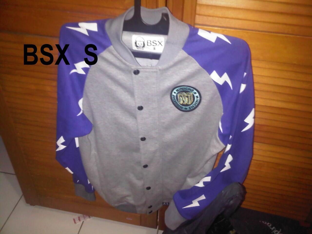 Jaket varsity BSX (beli di hongkong)