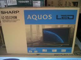 LED TV SHARP LC-32LE240M CUMA RP.3.100.000