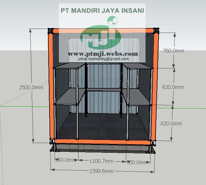 Terjual Pembuatan Kontainer Modifikasi Di Jakarta Kaskus