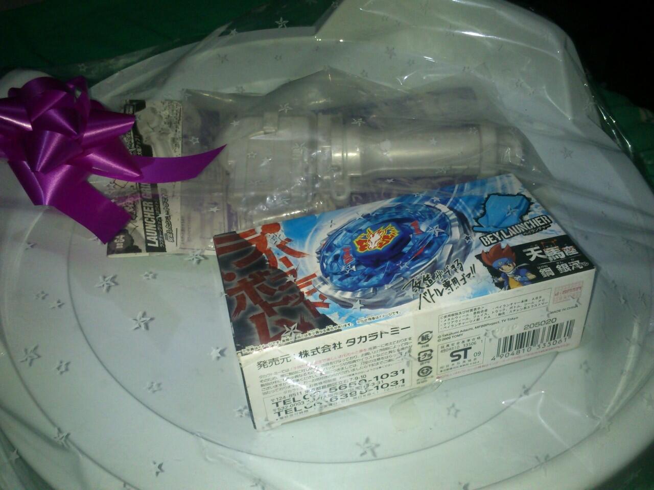 <<<...BEYBLADE TAKARA TOMY PEGASIS 105 RF...>>>