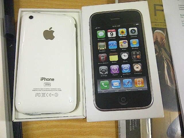 IPHONE 3GS 32GB FU WHITE MULUSSS