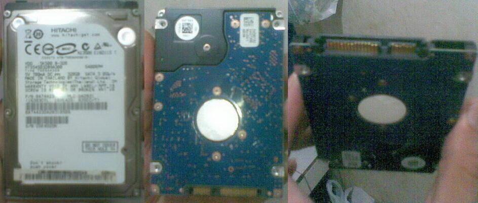 Hardisk HDD Netbook/Laptop Hitachi 320GB Sata 3.0 + Isi bebas