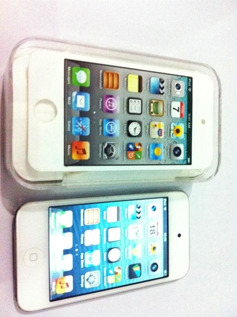 iPod touch 4th 8gb White Fullset Mulus Bergaransi