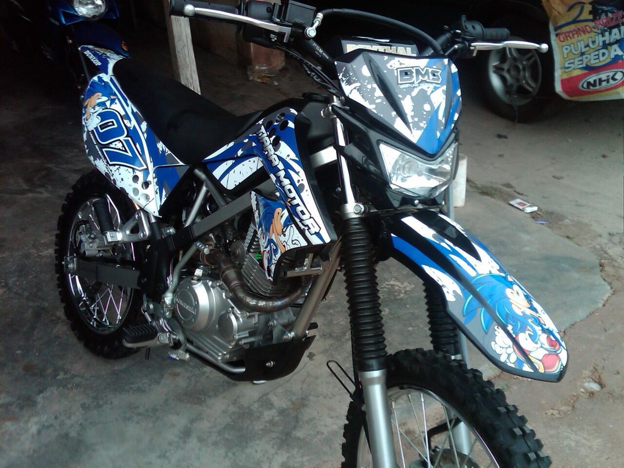 Jual Stiker Decal Khusus Motocross Enduro Trail Kawasaki