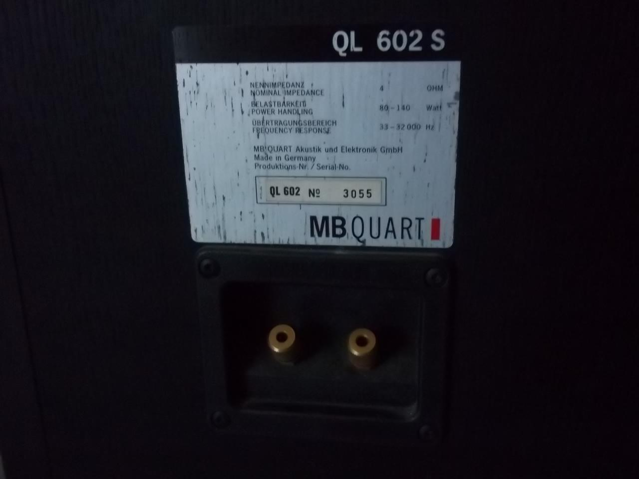 MB QUART QI 602 S made in GERMANY