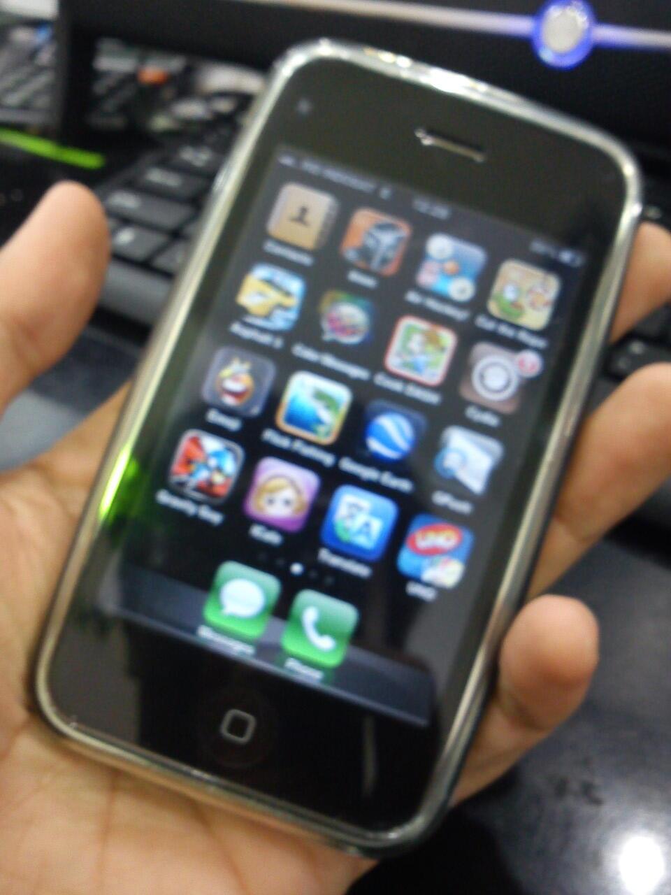SOLO IPHONE 3G 16GB WHITE