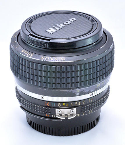 [Rare Item] Dijual Nikon MF 50mm f/1.2 Ais