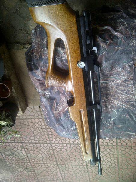 jual senapan angin bullpup durral 32mm,manometer