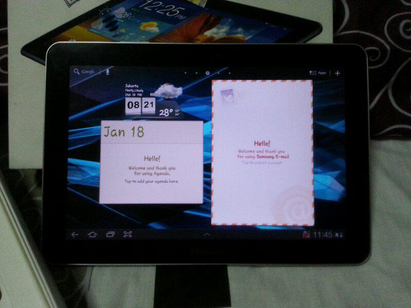 "Jual Samsung Galaxy Tab 10.1"" P7500 mulus 99%"