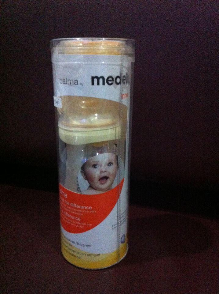 Botol Medela Calma dan Milkies Milk Saver