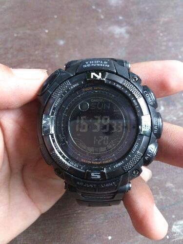 Jual Jam Tangan Casio Protrek PRG 130y black Cod bogor only