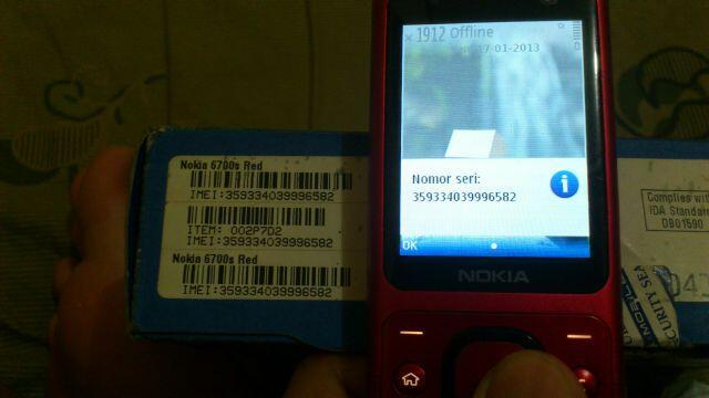 WTS : Nokia 6700s/ 6700 slide