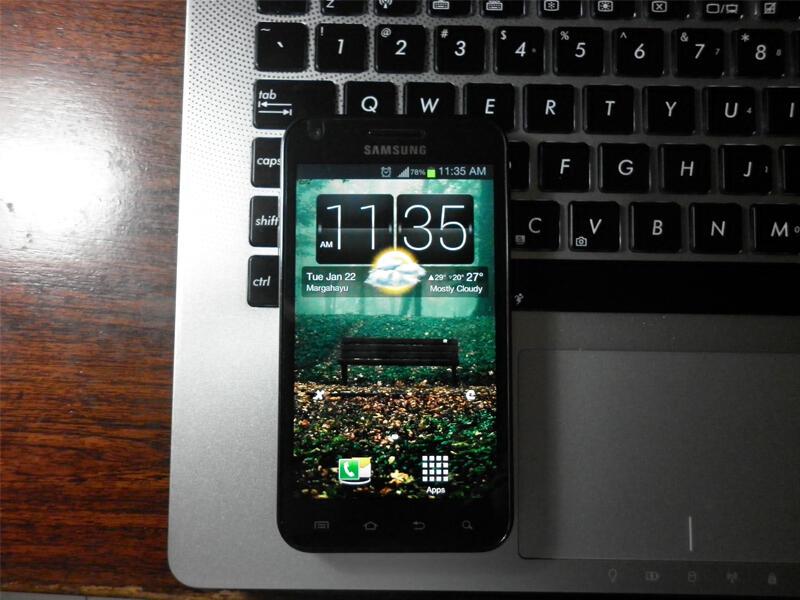 JUAL Samsung Galaxy S2 CDMA (EPIC 4G TOUCH)