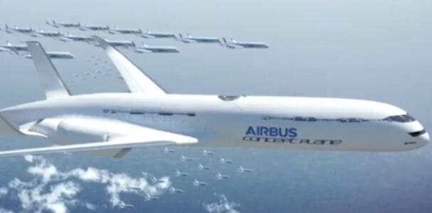 pesawat masa depan dari airbus.. wow !