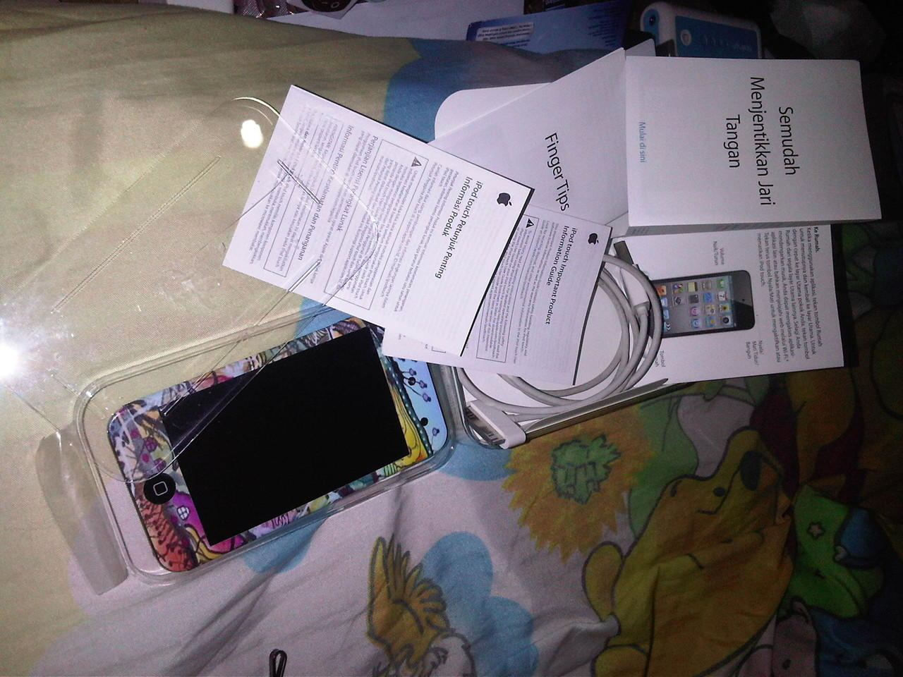 SELL IPOD TOUCH 4gen 8GB!!