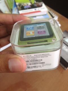 WTS Apple Ipod Nano 6th Gen 8Gb BNIB