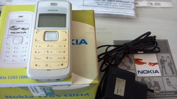 Nokia CDMA 1265 [Bandung]
