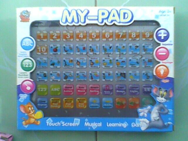 My Pad ( Pink & Biru ) Mainan Edukasi Buat Anak TK dan PAUD Jogja/Yogya
