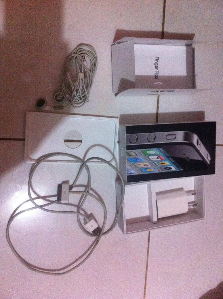 Iphone 4 16Gb FU Black Fullset