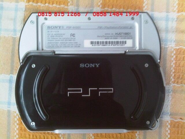 Sony PSP GO 16GB Piano Black FULLSET ( Bs TT sama Gadget lain'nya )