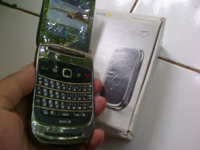 ( WTS )Blackberry Style CDMA 9670