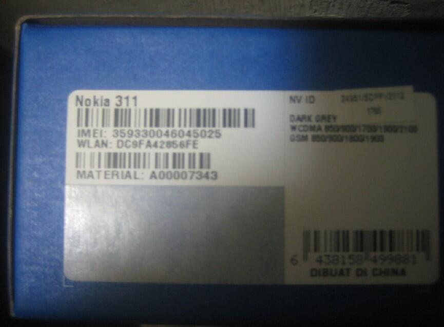 Promo Nokia asha 311