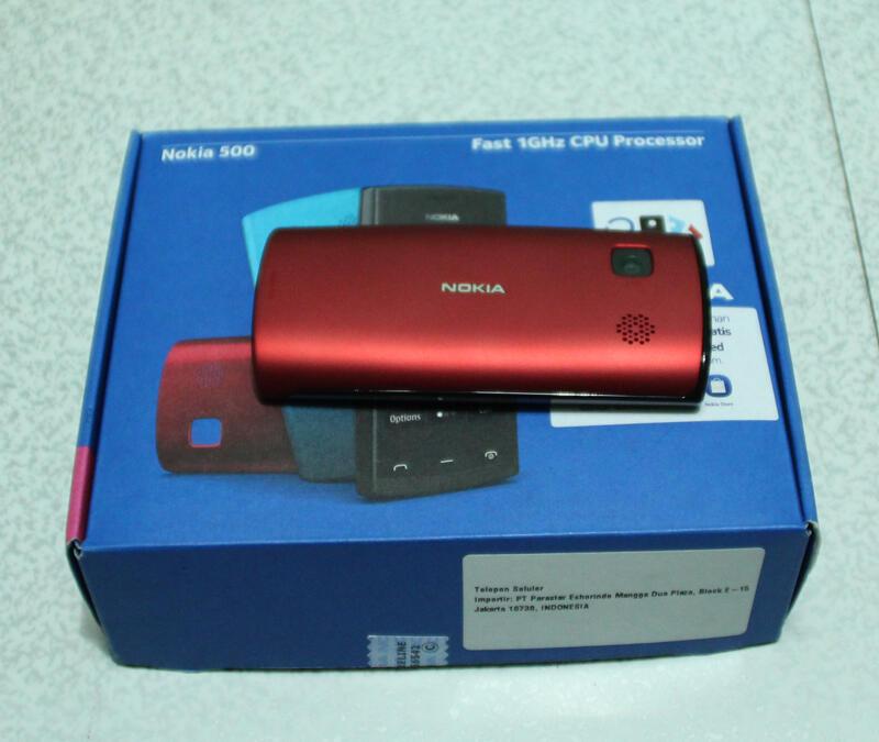 [[WTS]] Nokia 500 Fast 1GHz CPU Procwssor