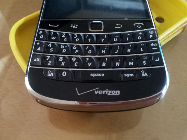 WTS Black Berry BB Montana 9930 2nd Black MULUS