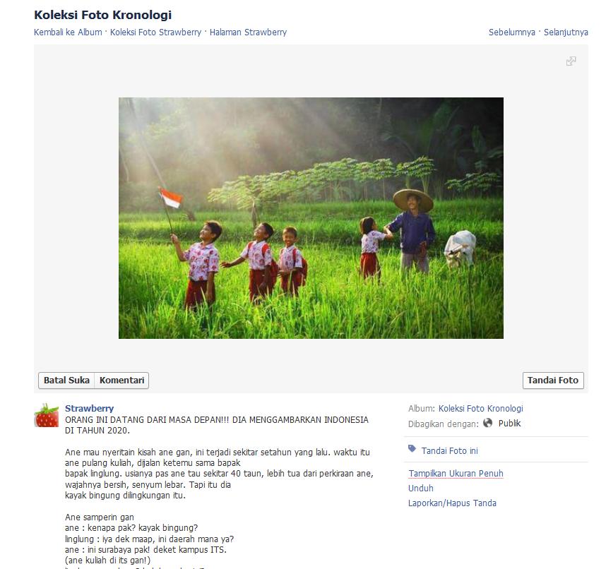 ORANG INI DATANG DARI MASA DEPAN!!! DIA MENGGAMBARKAN INDONESIA DI TAHUN 2020.