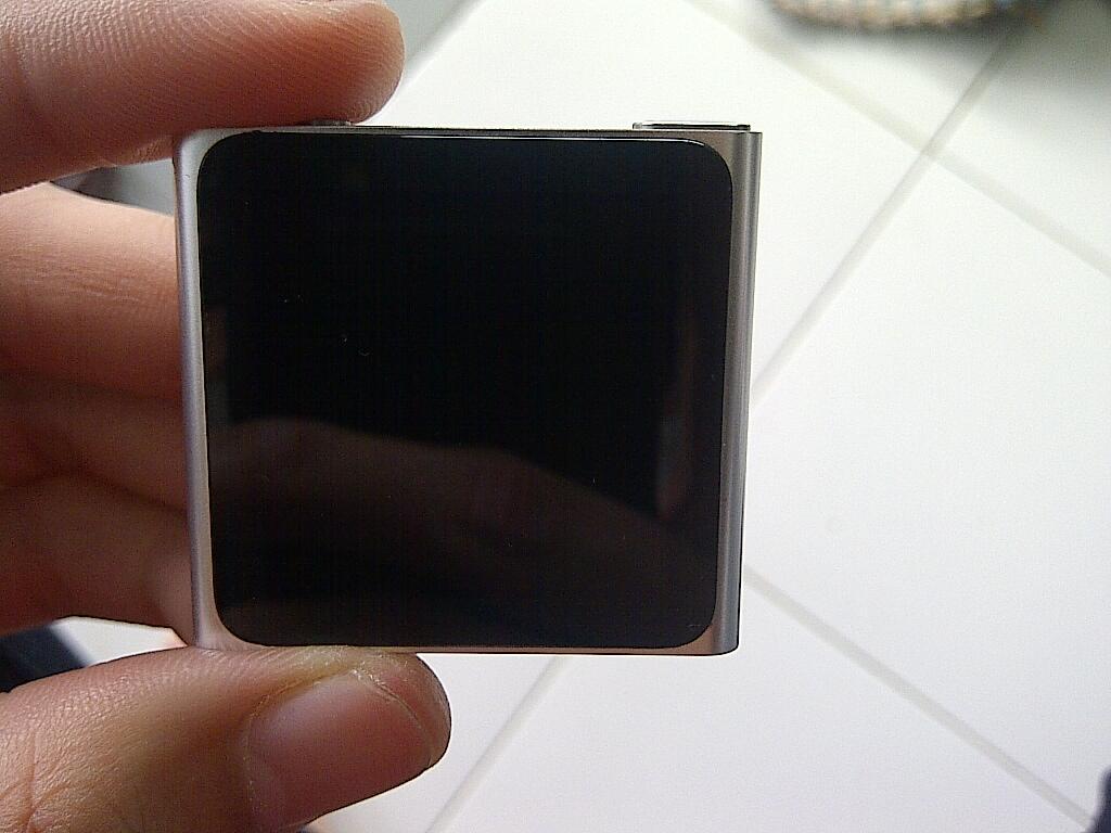 ipod nano 6th gen 8GB Silver