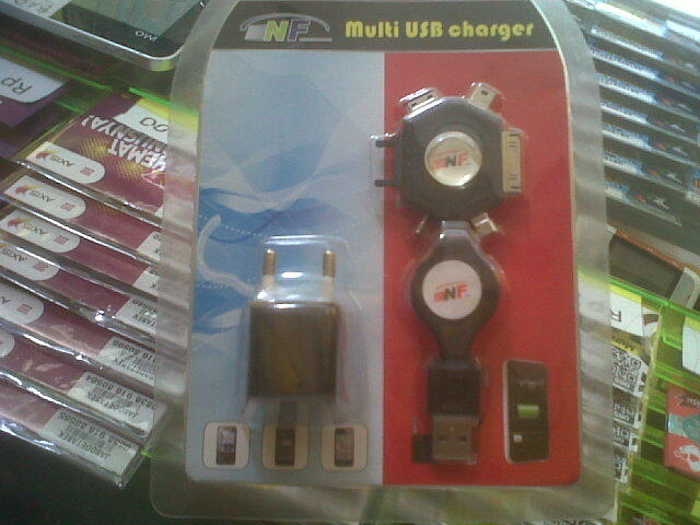 Charger Mobil Mobil Charger 9in1 For Blackberry, Nokia, Sony Ericsson, Samsung