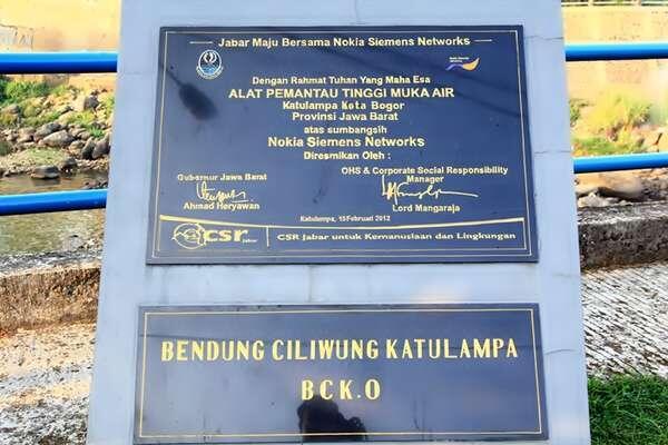 Ini Dia Katulampa, Gerbang Air Menuju Jakarta