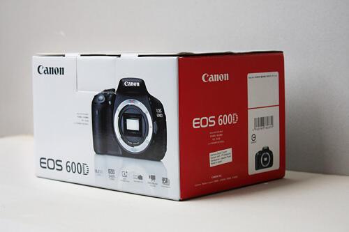 CANON EOS600D BO NEW