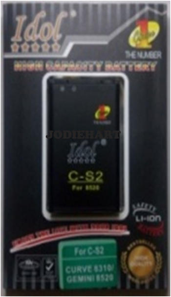 Baterai IDOL | High Capacity Battery | Double Power |Solusi Smart for Blackberry User