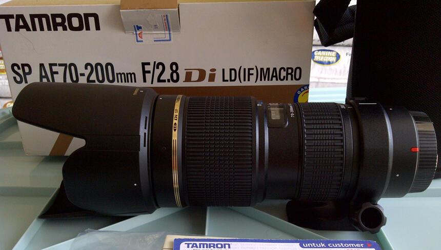 <b>MOUNT CANON - TAMRON SP AF 70-200MM F/2.8 DI LD (IF) MACRO</b>