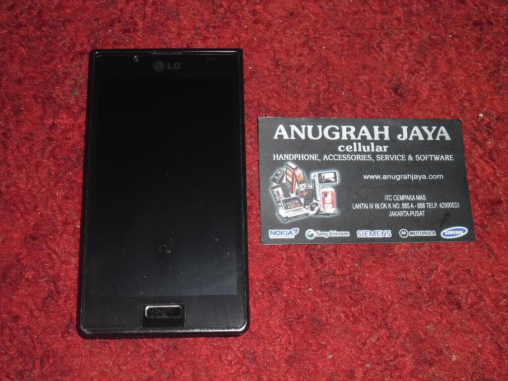 LG Optimus L7 P705 Black Second Mulus 97%, Lengkap, Murah & Masih Garansi Panjang