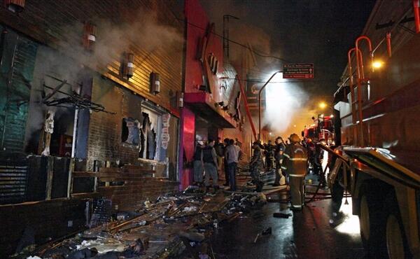 [New] Kebakaran Night club di Brazil