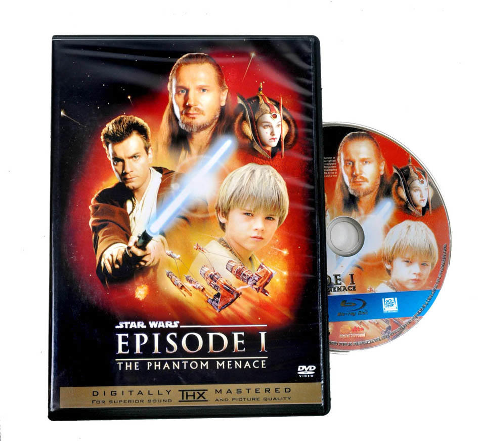 DVD Movie STARWARS Episode 1-3 (1 set)
