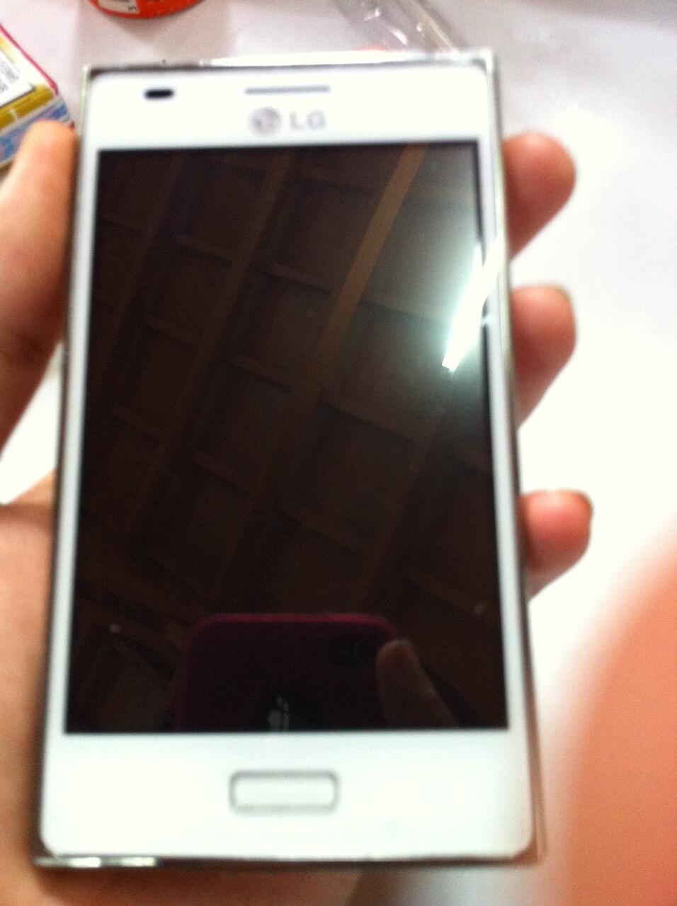 LG Optimus L5 White NEGO TIPIS