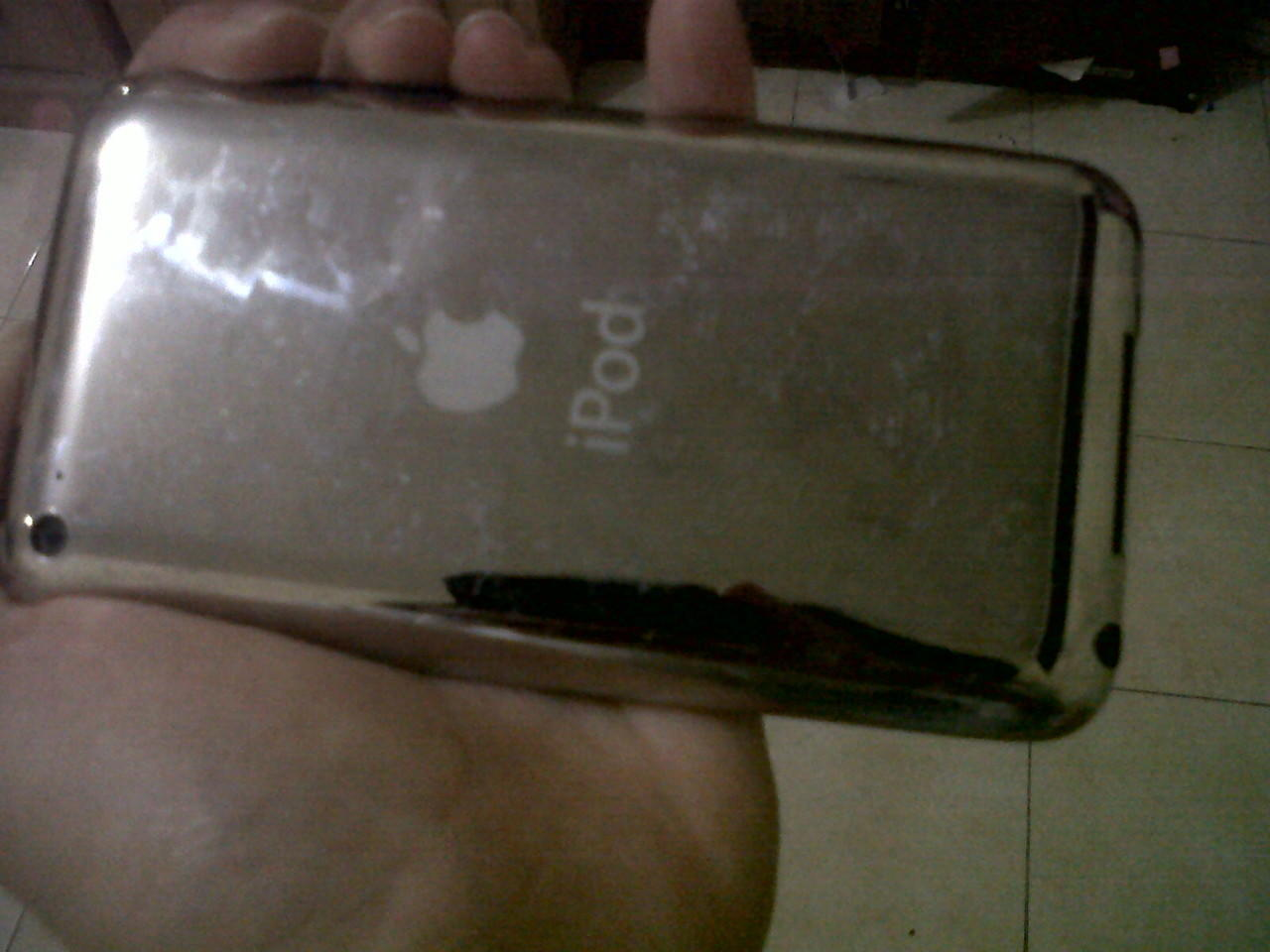 Jual second ipod 4th gen 32 GB muraah gan!