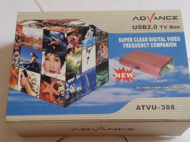 TV TUNNER Advance Digital ATVU-388 Super Lengkap.