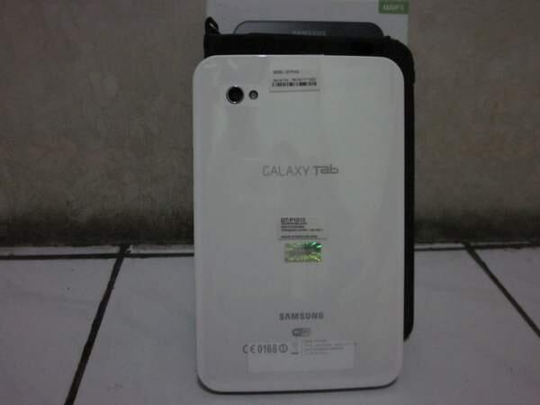 Samsung Galaxy Tab P1010 (wifi Only) fullset mulus dibwah 2jt